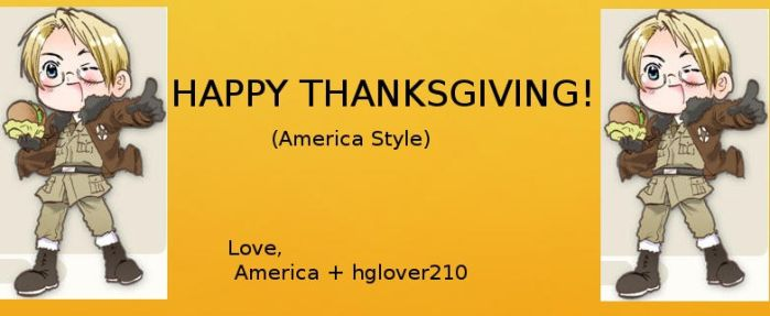 Happy Thanksgiving! by hglover210