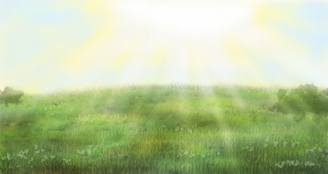 Grasslandscape (free background) by shiverwings