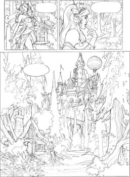 Songes Tome 2 Page 3 Lineart by TerryDodson