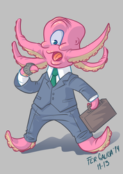 Senor Pulpo by ferah11