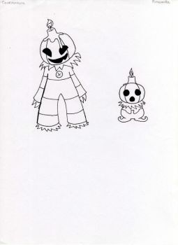 Fakemon- Pumpkins by JoshuaDunlop