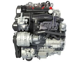 Supercharged Diesel Engine S60 T6 Drive-E by Gandoza