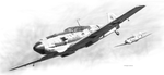 Messerschmitt Bf-109E Drawing by DouglasCastleman