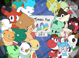Thanks For A Hundred! by LeoTheLionel