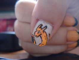 Charizard Nail by Camilicks