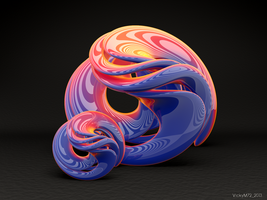 Twisted, Twisted Torus by VickyM72