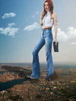Giantess Bella Thorne's Big Role 3 by dochamps