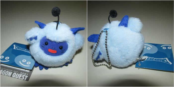 Dragon Quest Monsters: Watabou Plush Keychain by QuietW8