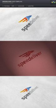 Speedeliver Logo Template by Saptarang