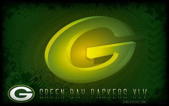 Packers Wall Super Bowl XLV by gp-media-labs