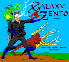 GZ cover star letter with flares by GalaxyZento