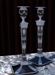 Victorian Candlesticks by plasmid1