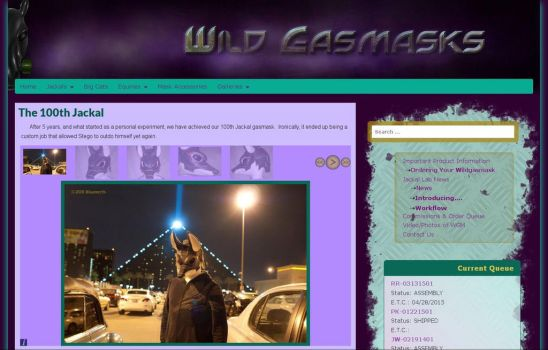 Wild Gasmasks V4: Gallery Pages by Catwoman69y2k
