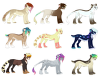 2$/200points ADOPTABLES by Kamis-Cafe