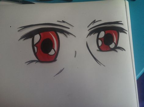 eyes manga by EMOctober