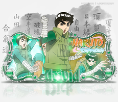 Sign  - Rock Lee by thiagoarantes20