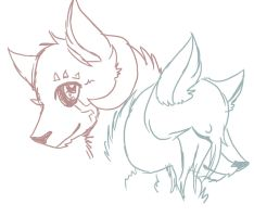 Caliban and Mailo by SilverTheCreator