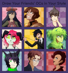 Draw Your Friends' OCs in Your Style Meme by Destron23