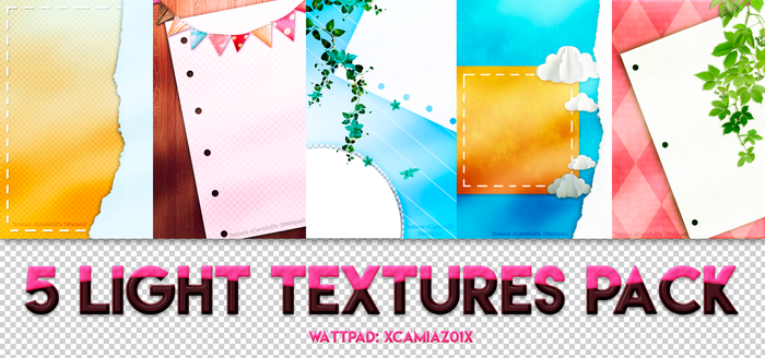 05 Light Textures Pack by camilibot