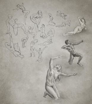 Daily Practice 01 24 2014, Figures by Eclectixx