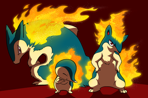 The Cyndaquil Family