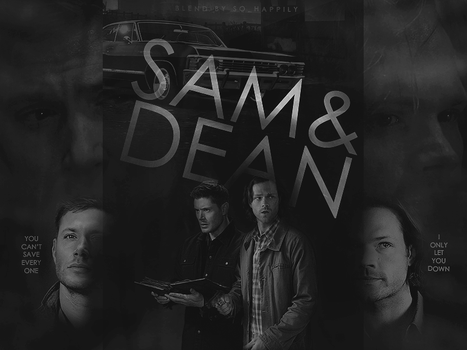 Blend 05 - Sam and Dean by sohappilyart