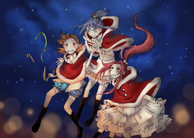 Xmas Illustration by caly-graphie