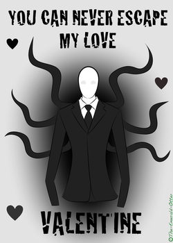 Slenderman Wants Your Love by The-Emerald-Otter