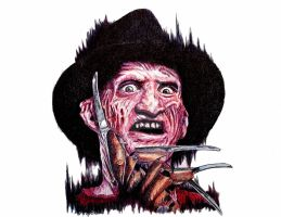 Freddy Krueger by OMKDrawings