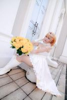 Love Live! - Wedding Kousaka Honoka by Xeno-Photography