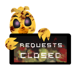 Chica Requests Closed Stamp by InkCartoon
