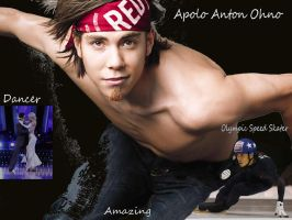 Apolo Anton Ohno by russetwolf1