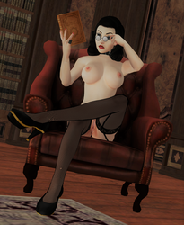 ELIZABETH: 'Hm, reading like this feels nice...' by DarkOverlord1296