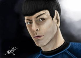 Spock by greenseed666