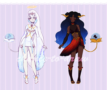 [auction] Fishy Friends - Fysaera Adopts [closed] by Chance-To-Draw