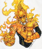Larfleeze :orange: Greed by ChrisOzFulton