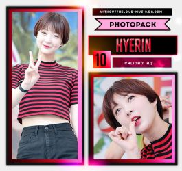 Hyerin #2 (EXID) |PHOTOPACK| by WithoutTheLove-Music