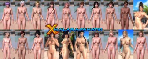 DOA5LR - Complete Nude Remix for XNALara/XPS by XPS-Fanatic