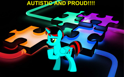 Autistic and Proud by JawsandGumballFan24