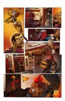 Judafist page 4 colors. by MarkCDudley