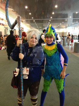 AX 2013 - Tooth Fairy and Jack Frost Cosplay by SpaceStation91