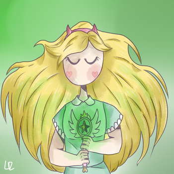 Star Butterfly by AngelBunnyCake10023