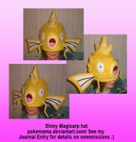 Shiny Magicarp hat by PokeMama