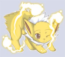 Jolteon by Hiccup-Chan