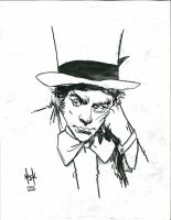 The Mad Hatter nycc sketch  by RobertHack
