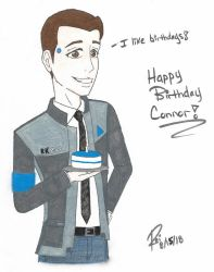 Happy Birthday Connor! -Color- by R3iD3adAim
