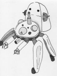 Tachikoma - Ghost in the Shell by brettchalupa