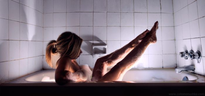She Bathes II by Coltography