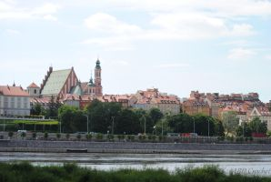 Old City of Warsaw by ABDCrochet