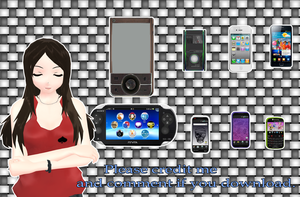 Phone pack [MMD] [DL] by Deiroko